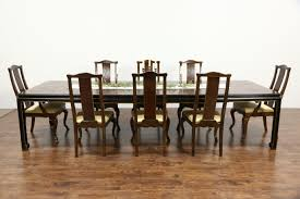 Antique Dining Room Tables by Sold Drexel Heritage Connoisseur Chinese Motif Vintage Dining