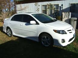 2012 toyota corolla s for sale sell used 2012 toyota corolla s sport model white moon roof 5968