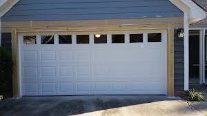 installation of garage door south charlotte residential garage door framing repair installation