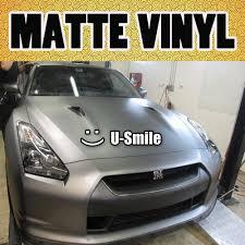 nissan gtr matte silver high quality matte silver car wrap silver matte car vinyl film