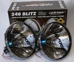 lightforce 240 blitz 4wd spot driving lights 4x4 new ebay