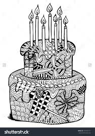 82 cupcakes cakes coloring pages adults images