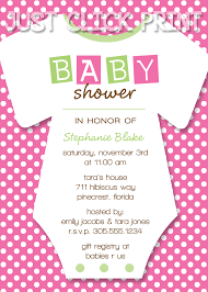 onesies baby shower invitation printable any color just click