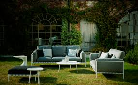 Composite Patio Furniture Contemporary Coffee Table Cristalplant Composite Outdoor