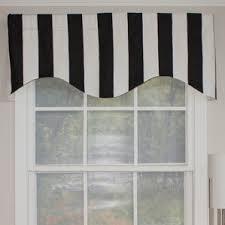 French Door Valances Striped Valances U0026 Kitchen Curtains You U0027ll Love Wayfair