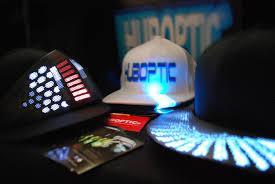 brand new dj caps light up caps led snapbacks dj hats sound