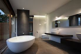 Modern Bathrooms Modern Bathrooms Also Bathroom Flooring Ideas Also Bathroom Style