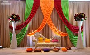 Indian Wedding Stage Decoration Idea – OOSILE