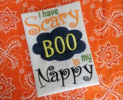 boys halloween embroidery design scary halloween applique scary