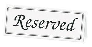 reserved signs for wedding tables black white reserved signs wedding reception table 5pk ebay