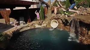 aquaterra pirates themed backyard pool youtube