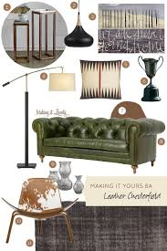 Room And Board Leather Sofa Best 25 Green Leather Sofa Ideas On Pinterest Metal Sofa Chair