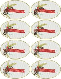 christmas u0026 holiday assorted circle and oval labels worldlabel blog