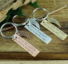 remembrance keychain memorial keychain sympathy gift custom keychain remembrance