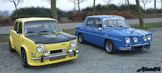 renault old which one of those two old french rally car would you pick
