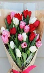 tulip bouquets white tulip bouquet