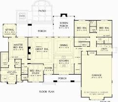 One Story House Plans With Bonus Room 153 Best One Level House Plans Images On Pinterest Floor Plans