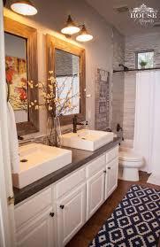 best farmhouse bathroom design and decor ideas for diy concrete farmhouse bathroom countertop