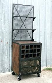 Reclaimed Wood Bar Cabinet Industrial Bar Cabinet Justinlover Info