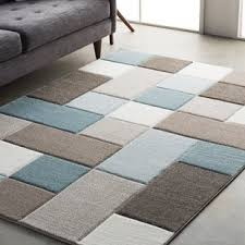 Blue Brown Area Rugs Teal And Brown Area Rug Wayfair