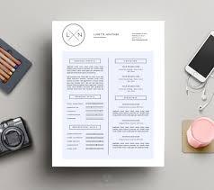 Minimalist Resume Minimalist Resume Design Cover Letter Print Resumes Luvly