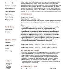 Cfo Resume Template Leadership Resume Template Leadership Resume Samples Account