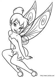 coloriage la fée clochette à colorier dessin à imprimer