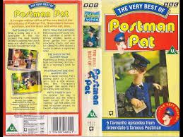 postman pat vhs 1992