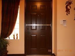 how to build a solid wood door doorricade door bar hardware locks amazon com