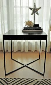 Ikea Side Tables Living Room Ikea Lack Side Table Repurposed Hacked Modern Living Room Other