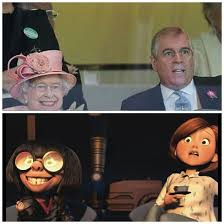 Edna Meme - the queens horse winning kinda looks like edna from the