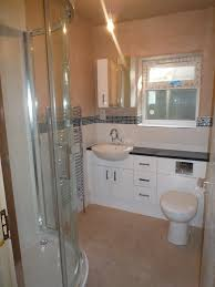en suite bathroom recently completed in bolton bathrooms and