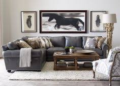 Small Living Room With Sectional Fh Decor Idea Couch Pillows Fashionable Hostess It U0027s All In