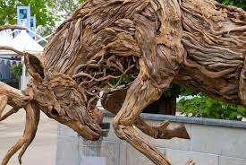 amazing driftwood sculptures by doran webb cox garden