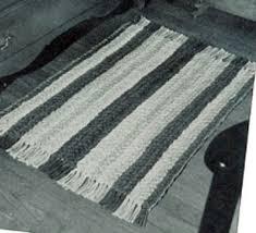 Stroud Rugs Crocheted Chain Braided Rug Pattern Crochet Patterns