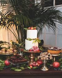 christmas wedding cakes 23 festive winter wedding cakes martha stewart weddings