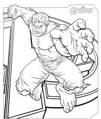 coloring pages the avengers hulk coloring pages super heroes