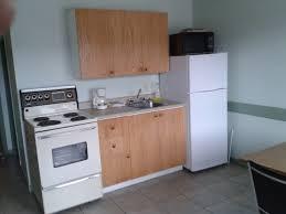 triple kitchenette the chimo motel in cochrane