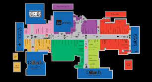 Mentor Ohio Map by Mall Map For Great Lakes Mall A Simon Mall Located In Mentor