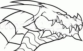 coloring pages dragon drawing simple coloring pages dragon