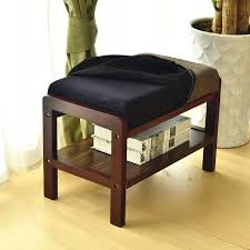 Bench For Foyer by Furniture Bedding Foyer Bench With Brown Wooden Floor And