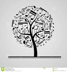 black tree stock vector image 38898680