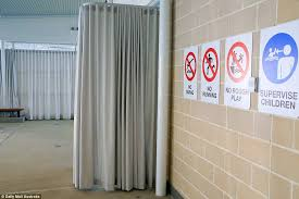 Retractable Curtains Mark Latham Slams Council For Pool Screens For Muslims Daily