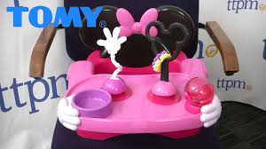 Minnie Mouse Toy Organizer Disney Baby Minnie Mouse Helping Hands Feeding And Activity Seat