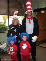 Cat In The Hat Costume Cat In The Hat Dr Seuss Book Characters Family Costume