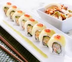 eatbeat new at ra sushi u2014 sparkling sake 3 rolls