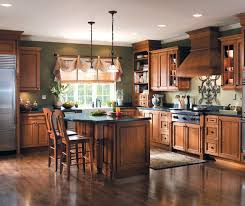 Hickory Kitchen Cabinets Brilliant Rustic Hickory Kitchen Cabinets 37 Regarding Home