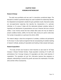 research design thesis example hanifa thesis eau 7775770 by hanifa mohamad salah