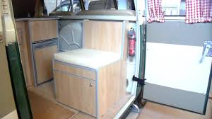 volkswagen westfalia camper interior vw split screen camper interior from sterling automotive youtube