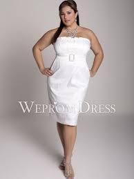 plus size floor length empire white satin lace a line boutique